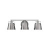 This item: Cartwright Polished Nickel Three-Light Bath Vanity