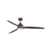 This item: Artiste Metallic Matte Bronze LED 60-Inch Ceiling Fan