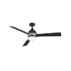 This item: Verge Matte Black LED 52-Inch Ceiling Fan