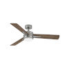 This item: Ventus Pewter LED 52-Inch Ceiling Fan