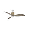 This item: Marin Matte White 60-Inch Smart LED Indoor Outdoor Fan