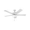 This item: Metro Illuminated Chalk White 52-Inch Smart Two-Light LED Ceiling Fan