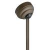This item: Metallic Matte Bronze Sloped Ceiling Canopy Kit