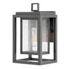 This item: Republic Oil Rubbed Bronze One-Light Outdoor Small Wall Mount