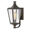 This item: Jaymes Oil Rubbed Bronze One-Light Outdoor Small Wall Mount