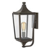 This item: Jaymes Oil Rubbed Bronze One-Light Outdoor Medium Wall Mount