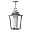 This item: Sullivan Hematite 12-Inch One-Light Outdoor Hanging Pendant