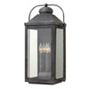 This item: Anchorage Aged Zinc 13-Inch Four-Light Outdoor Extra Large LED Wall Mount