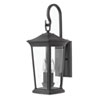 This item: Bromley Museum Black 20-Inch Two-Light Outdoor Small Wall Mount