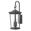 This item: Bromley Museum Black 25-Inch Three-Light Outdoor Medium Wall Mount