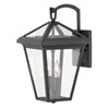 This item: Alford Place Museum Black Two-Light Outdoor Small Wall Mount