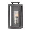 This item: Sutcliffe Aged Zinc 7-Inch One-Light Outdoor Small Wall Mount