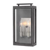 This item: Sutcliffe Aged Zinc 9-Inch Two-Light Outdoor LED Medium Wall Mount