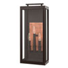 This item: Sutcliffe Oil Rubbed Bronze 10-Inch Three-Light Outdoor Large LED Wall Mount