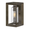 This item: Rhodes Warm Bronze 13-Inch One-Light Outdoor Wall Sconce