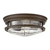 This item: Hadley Oil Rubbed Bronze 12-Inch Two-Light Flush Mount