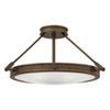 This item: Collier Light Oiled Bronze 22-Inch Four-Light Semi-Flush Mount