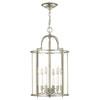 This item: Gentry Polished Nickel Six-Light Foyer Pendant