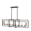 This item: Quentin Aged Zinc 45-Inch Eight-Light Stem Hung Linear