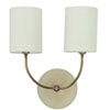 This item: Scatchard Oatmeal 14.5-Inch Two-Light Wall Sconce