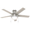 This item: Anslee Low Profile Brushed Nickel 46-Inch LED Ceiling Fan