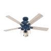 This item: Hartland Indigo Blue 52-Inch LED Ceiling Fan