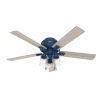 This item: Hartland Indigo Blue 52-Inch Three-Light LED Ceiling Fan