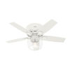 This item: Bennett Matte White 44-Inch LED Ceiling Fan