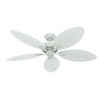 This item: Bayview White 54-Inch Outdoor Ceiling Fan
