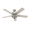 This item: Devon Park Brushed Nickel 52-Inch LED Ceiling Fan