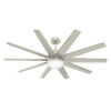 This item: Overton Matte Nickel 60-Inch Two-Light DC LED Ceiling Fan