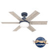 This item: Pacer Indigo Blue 44-Inch Two-Light LED Ceiling Fan
