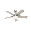 This item: Bartlett Brushed Nickel 44-Inch LED Ceiling Fan