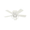 This item: Crestfield Low Profile Fresh White 42-Inch LED Ceiling Fan