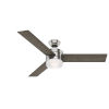 This item: Exeter Brushed Nickel 54-Inch LED Ceiling Fan