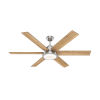 This item: Warrant Brushed Nickel 60-Inch DC Motor LED Ceiling Fan