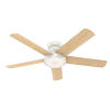 This item: Romulus Low Profile Fresh White 54-Inch Smart LED Ceiling Fan