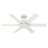This item: Kennicott Fresh White 44-Inch Outdoor Ceiling Fan