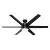 This item: Solaria Matte Black 60-Inch LED Ceiling Fan
