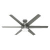 This item: Solaria Matte Silver 60-Inch LED Ceiling Fan