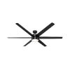 This item: Solaria Matte Black LED 72-Inch Outdoor Ceiling Fan