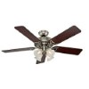 This item: Studio Series Brushed Nickel Four Light 52-Inch Ceiling Fan