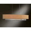This item: Oceanus Vintage Platinum Four-Light Linear Pendant with Doeskin Suede Shade