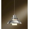 This item: Staccato Vintage Platinum One-Light Dome Pendant with Cast Glass