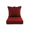This item: Pacifica Premium Deep Seat Lounge Cushion in Caliente