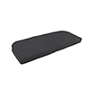 This item: Pacifica Premium Double Welt Settee Seat Cushion in Slate