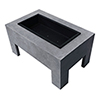 This item: Monolith Fire Basin in Light Gray Cement