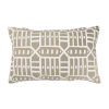 This item: Pacifica Roland Hemp Brown Throw Pillow