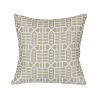 This item: Pacifica 24-Inch Roland Hemp Brown Throw Pillow
