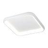 This item: Acryluxe Polaris Matte White LED Flush Mount with Opal Acrylic Shade